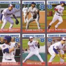 Frank Batista Lot of 5 - 2015 Tennessee Smokies