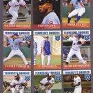 P. J. Francescon  Lot of 5 - 2015 Tennessee Smokies