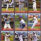 Starling Peralta   Lot of 5 - 2015 Tennessee Smokies