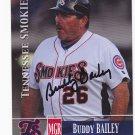 Budy Bailey    Autographed 2014 Tennessee Smokies