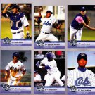 Starling Peralta   Lot of 5 cards  2013 Daytona Cubs