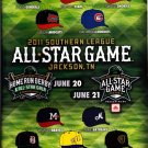 2011 Southern League All Star Game Program