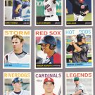 Clay Schrader #47   2013 Topps Heritage Minors