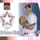 Kyle Sleeth 2002 UD Rookie Update USA Future Watch Swatch