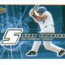 Ivan Rodriguez 2002 UD Rookie Update 5-Star Tribute Jersey Card