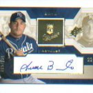Juan Brito 2002 UD Rookie Update Autograph #/825