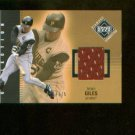 Brian Giles #241 2002 UD Diamond Connection Jersey Card #/775