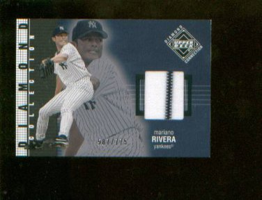 Mariano Rivera  #267 2002 UD Diamond Connection Jersey Card #/775