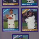 Justin Upton #702  2015 Topps Heritage High # Purple Refractor