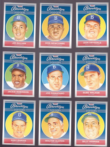 Billy Herman    -   Artist Portrait of 1957 Brooklyn Dodger's Players