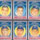 Roy campanella   -   Artist Portrait of 1957 Brooklyn Dodger's Players