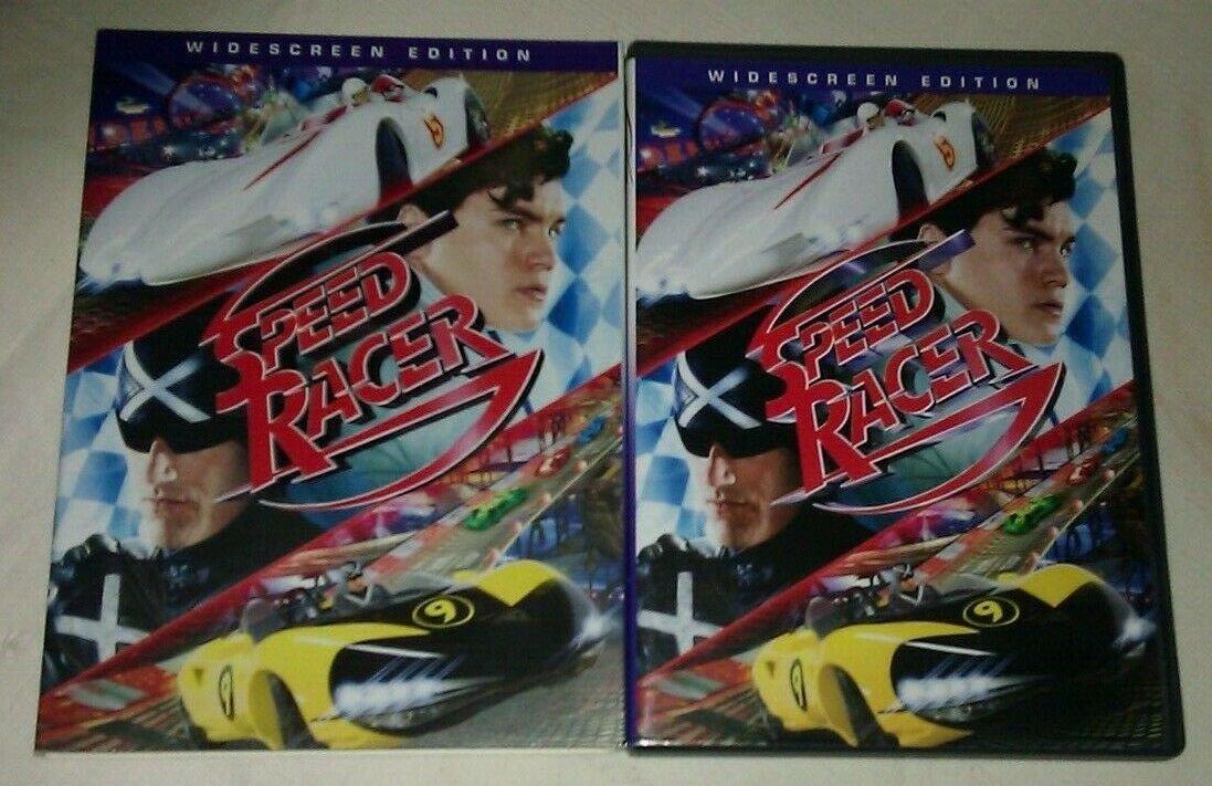 Speed Racer (DVD, 2008, Widescreen) Susan Sarandon Matthew Fox