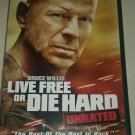 Die Hard 4: Live Free or Die Hard (DVD, 2007, Unrated Widescreen Single-Disc Ver