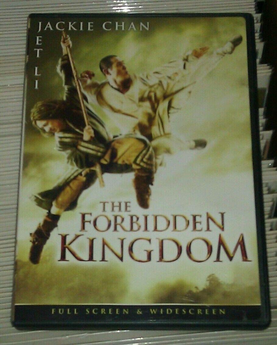 Forbidden Kingdom (DVD, 2008, Full ScreenWidescreen) Jet Li Jackie Chan