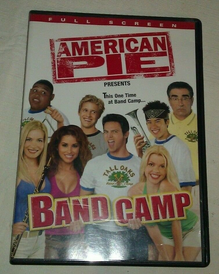American Pie Presents: Band Camp (DVD, 2005, Full Frame - Rated)