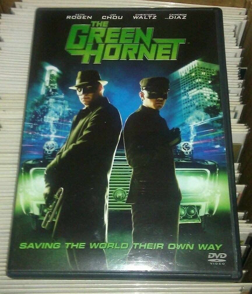 Green Hornet (DVD, 2011) Seth Rogen Cameron Diaz