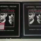 American Gangster (DVD, 2008, 2-Disc Set Unrated Extended Ed ) Denzel Washington