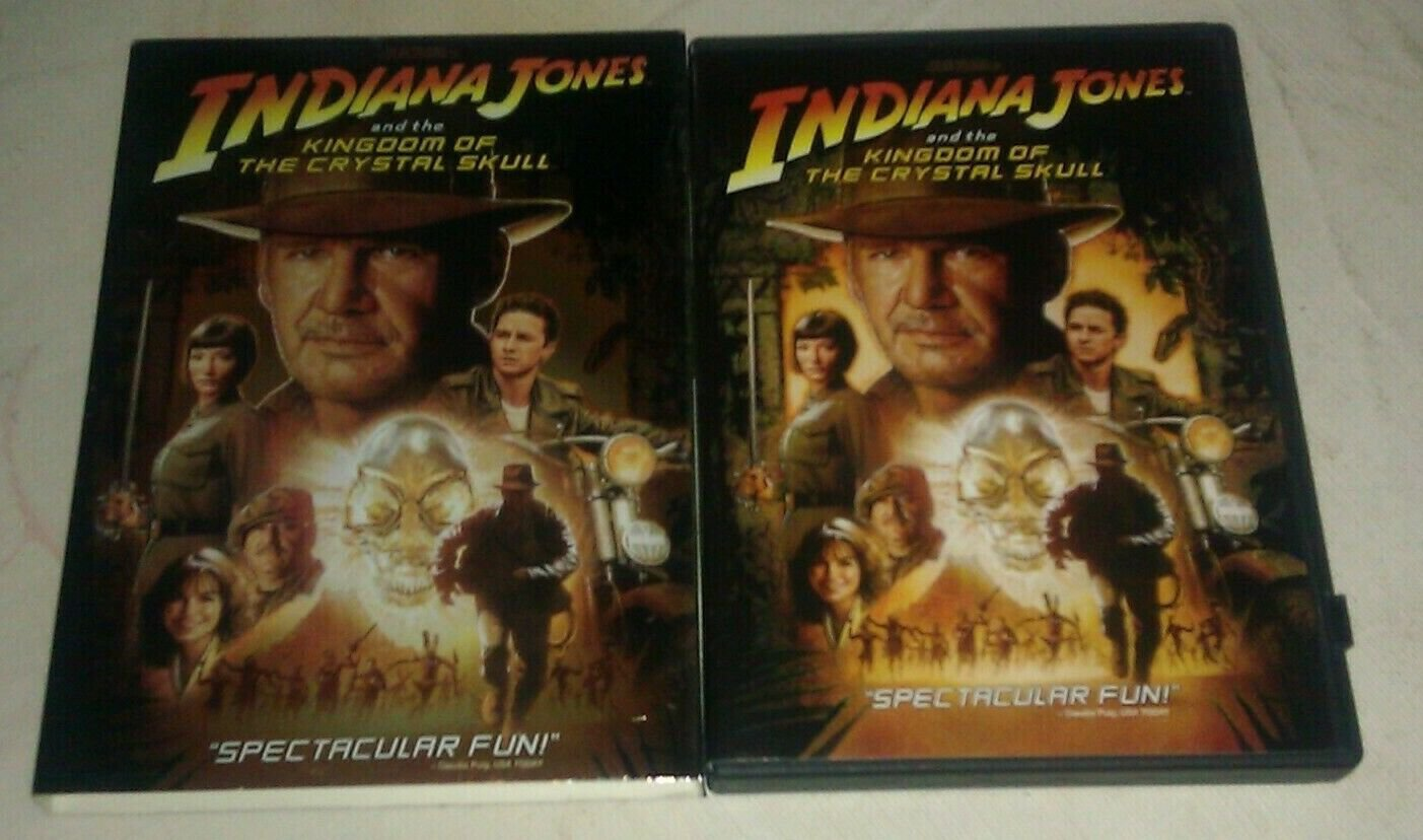 Indiana Jones and the Kingdom of the Crystal Skull (DVD, 2008) Harrison Ford