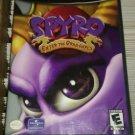 Spyro: Enter the Dragonfly (Nintendo GameCube, 2002) With Manual CIB