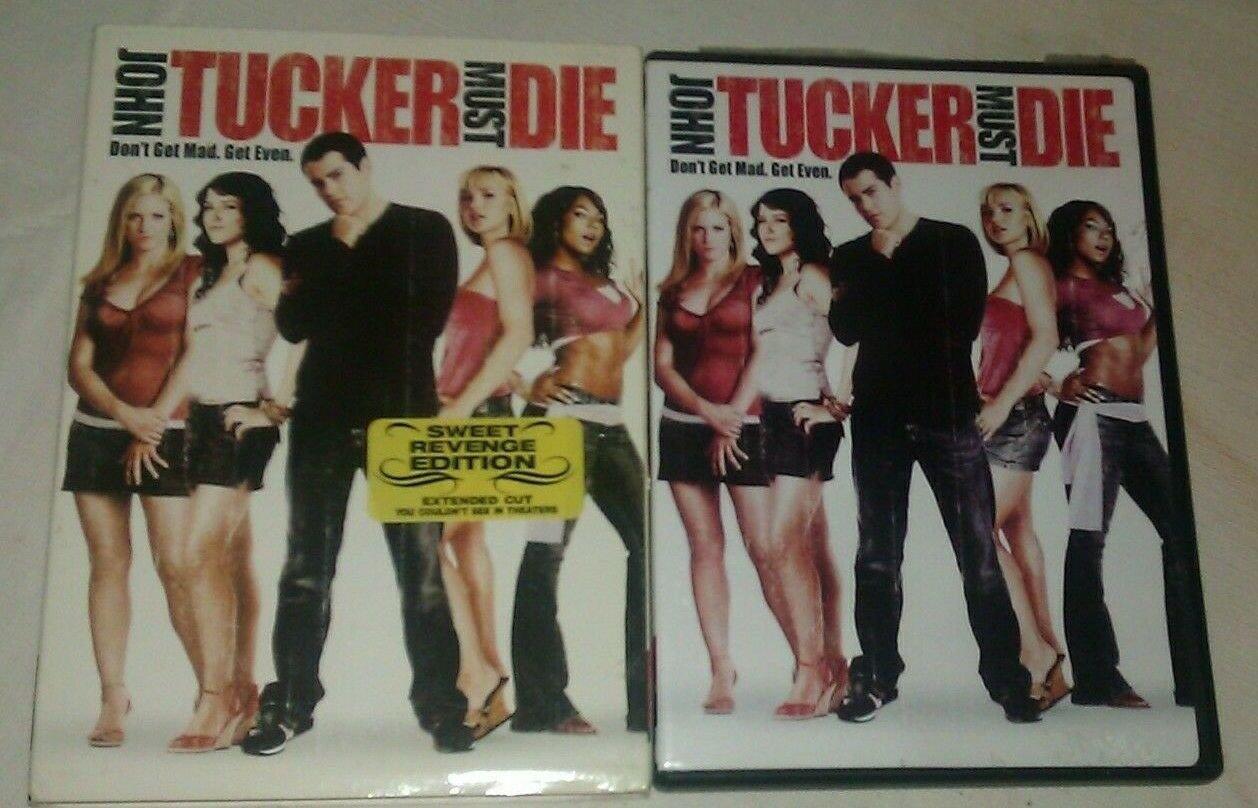 John Tucker Must Die (DVD, 2006, Dual Side) Sweet Revenge Edition Extended Cut