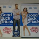 Good Luck Chuck (DVD, 2008, Unrated - Full Screen) Dane Cook Jessica Alba