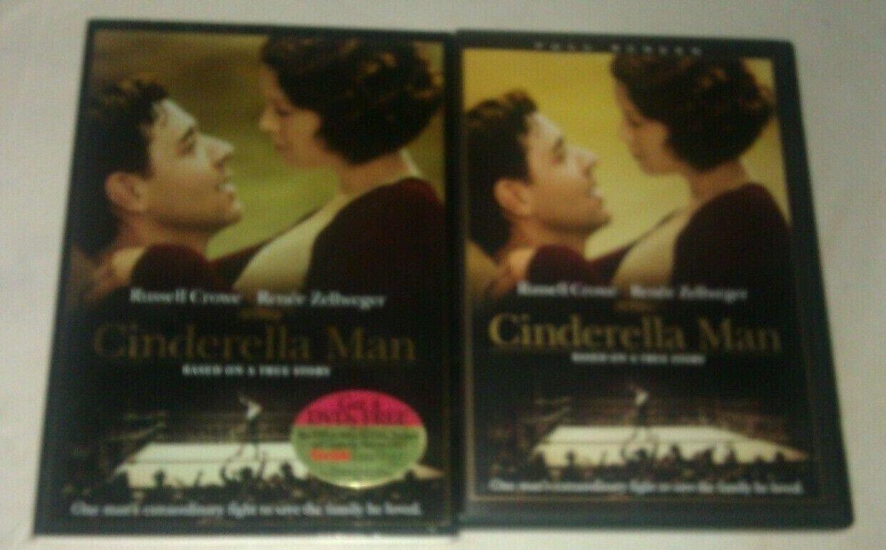 Cinderella Man (DVD, 2005, Full Frame) Russell Crowe Renee Zellweger