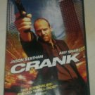 Crank (DVD, 2007, Full Frame Edition) Jason Statham Amy Smart