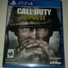 Call of Duty: WWII (Sony PlayStation 4, 2017) PS4 Tested