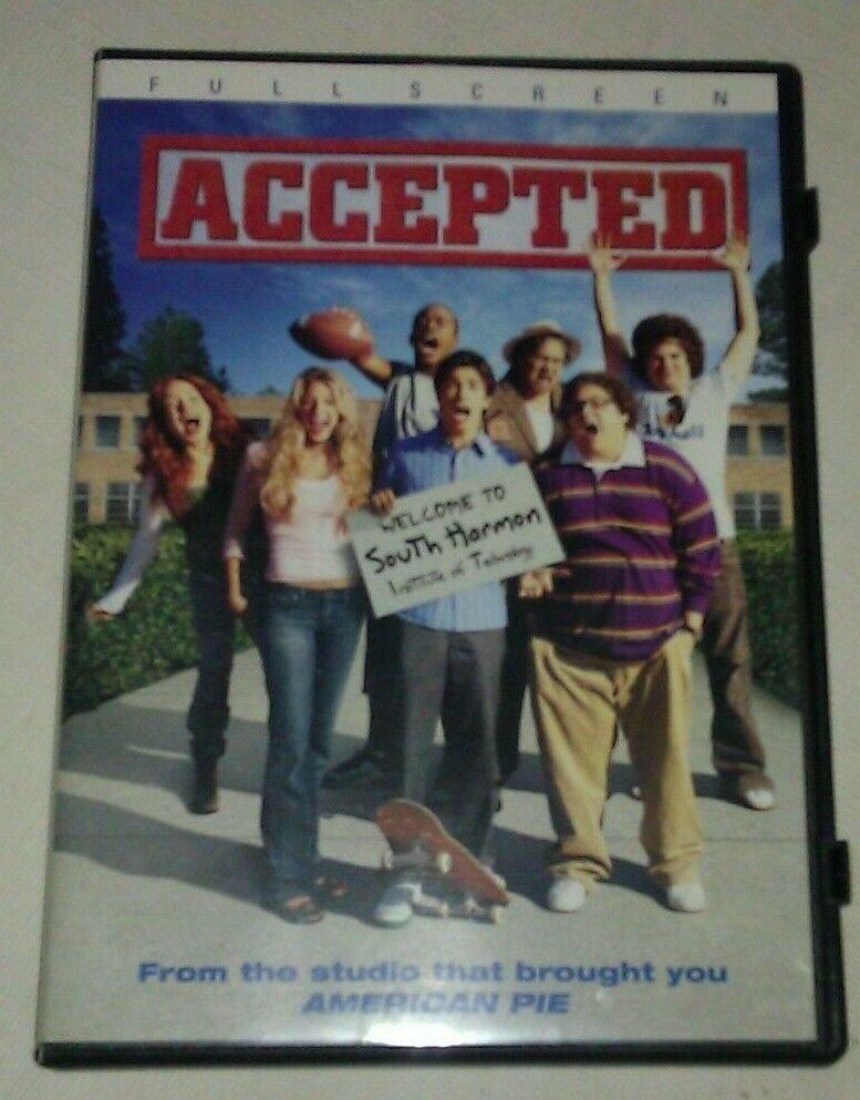 Accepted (DVD, 2006, Full Frame)