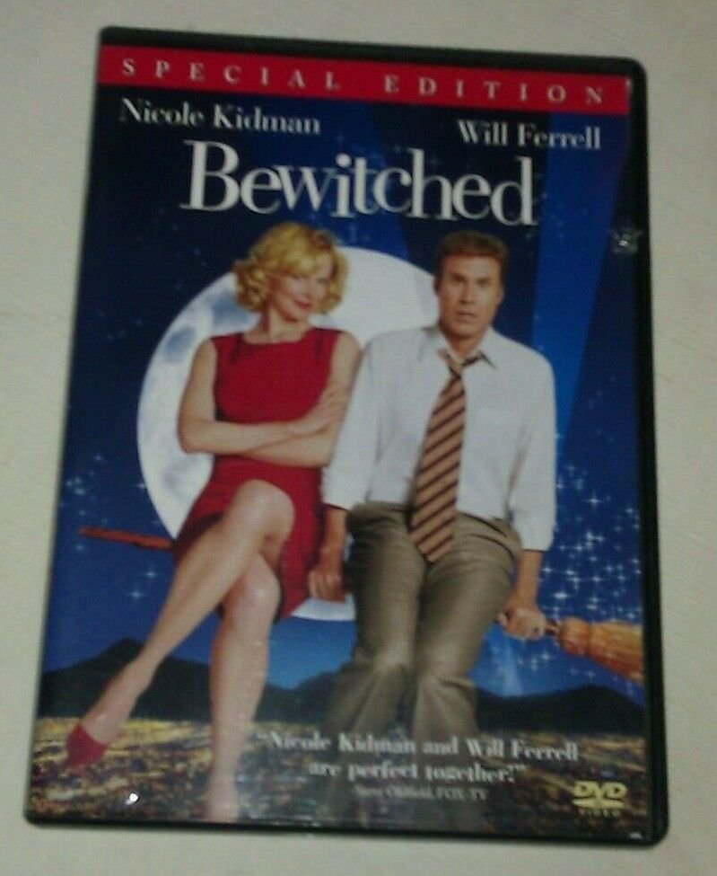Bewitched (DVD, 2005, Special Edition) Nicole Kidman Will Ferrell
