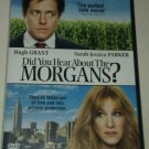 Did You Hear About the Morgans (DVD, 2010) Hugh Grant Sarah Jessica Parker