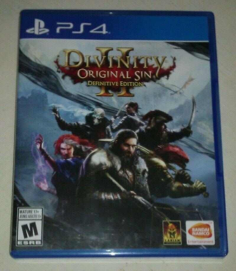 Divinity: Original Sin II Definitive Edition (PlayStation 4, 2018) PS4 Tested