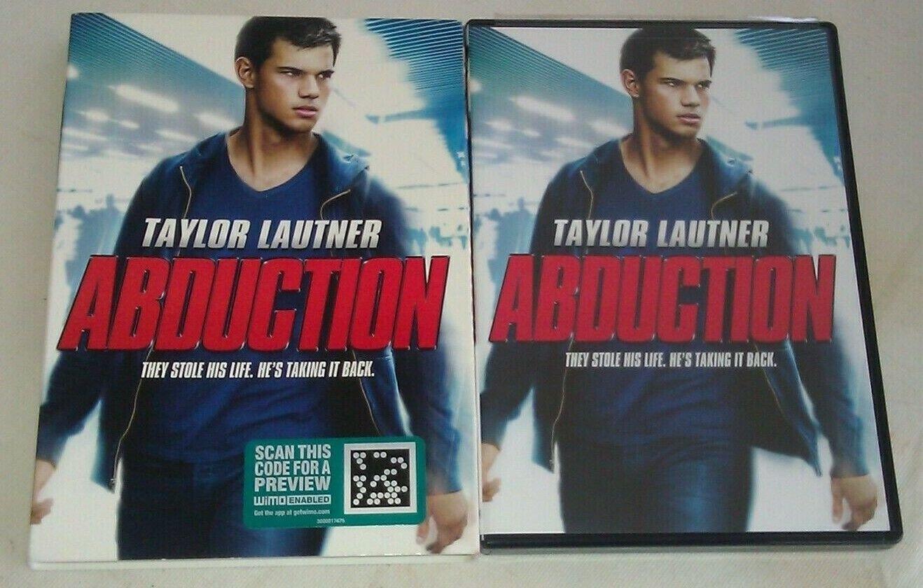 Abduction (DVD, 2012) Taylor Lautner Sigourney Weaver