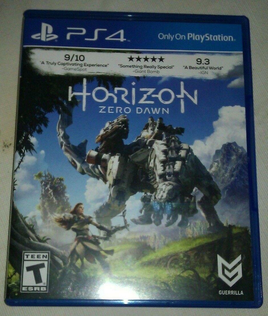 Horizon: Zero Dawn (Sony PlayStation 4, 2017) PS4 Tested