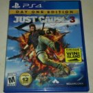 Just Cause 3 Day One Edition (Sony PlayStation 4, 2015) PS4 Tested