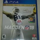Madden NFL Football 19 Hall of Fame Edition (Sony PlayStation 4) PS4 Tested
