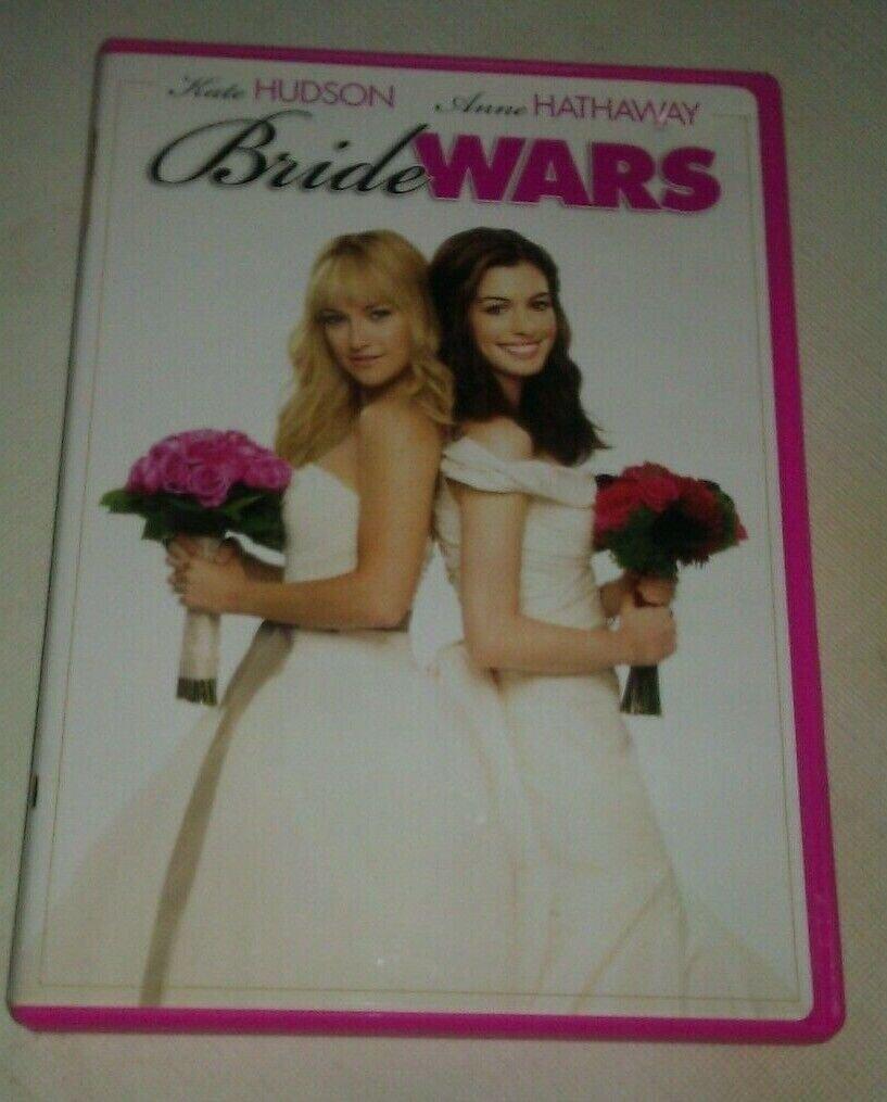 Bride Wars (DVD, 2009, Checkpoint Sensormatic Widescreen) Kate Hudson