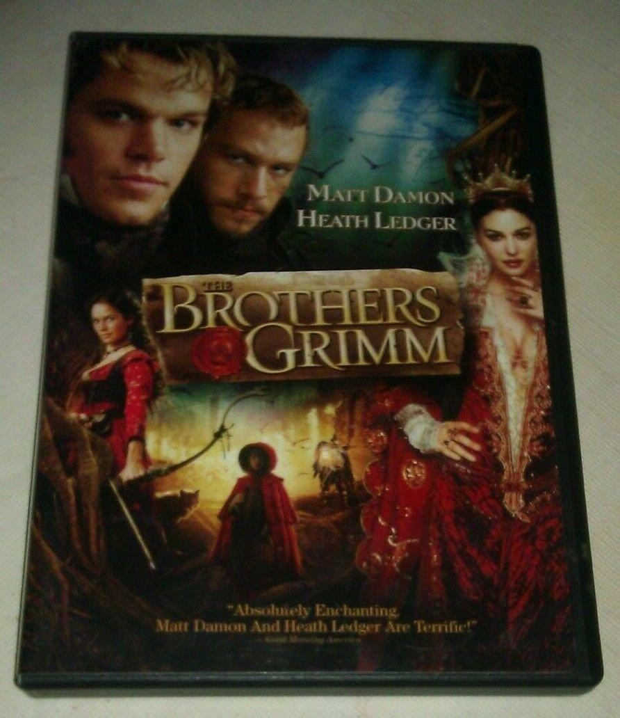 Brothers Grimm (DVD, 2005) Matt Damon Heath Ledger