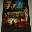 Brothers Grimm (DVD, 2005) Matt Damon Heath Ledger