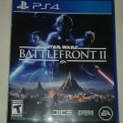 Star Wars: Battlefront II (Sony PlayStation 4, 2017) PS4 Tested