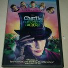 Charlie and the Chocolate Factory (DVD, 2005, Full Frame) Johnny Deep