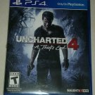 Uncharted 4: A Thief's End for PlayStation 4 (DVD, 2016) PS4 Tested