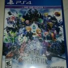 World of Final Fantasy: Day One Edition (Sony PlayStation 4, 2016) PS4 Tested