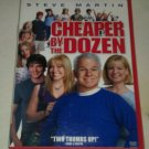 Cheaper by the Dozen (DVD, 2004) Steve Martin