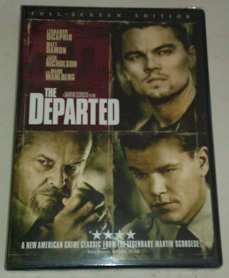 Departed (DVD, 2007) Leonardo DiCaprio FACTORY SEALED