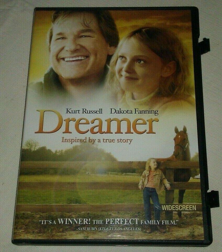 Dreamer (DVD, 2006, Widescreen) Kurt Russell Dakota Fanning