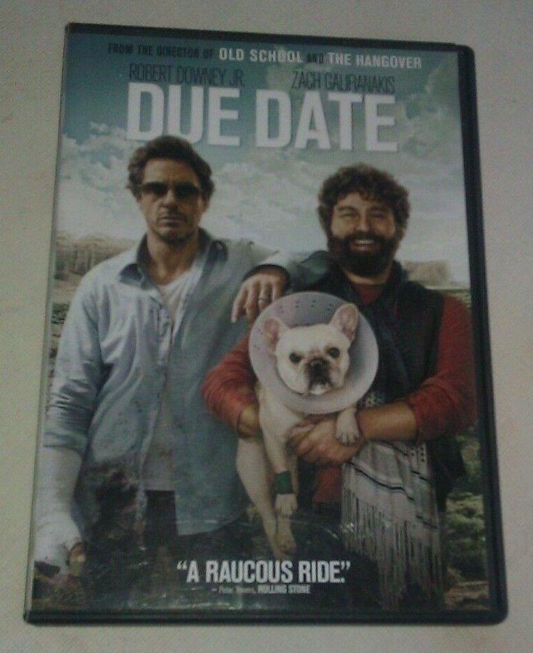 Due Date (DVD, 2011) Robert Rowney Jr Zach Galifiankis