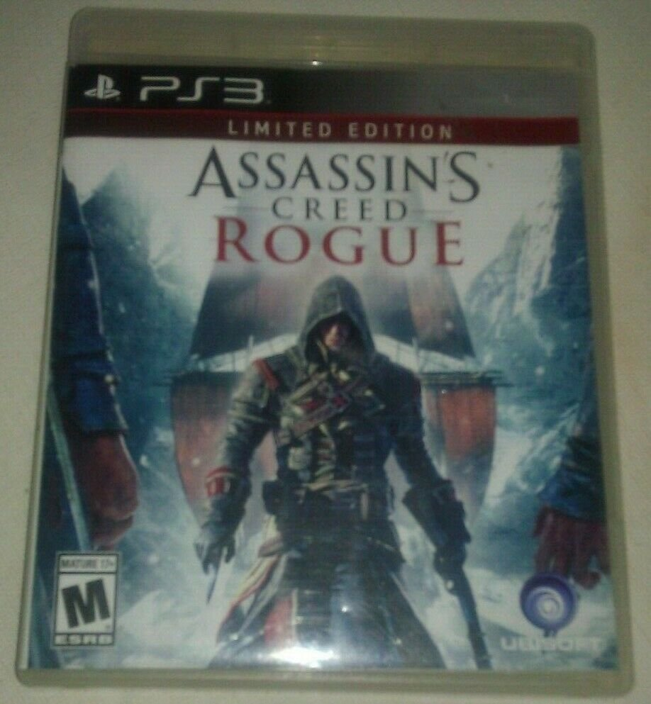 Assassin's Creed: Rogue -- Limited Edition (Sony PlayStation 3, 2014) PS3 Tested