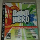 Band Hero (Sony PlayStation 3, 2009) PS3