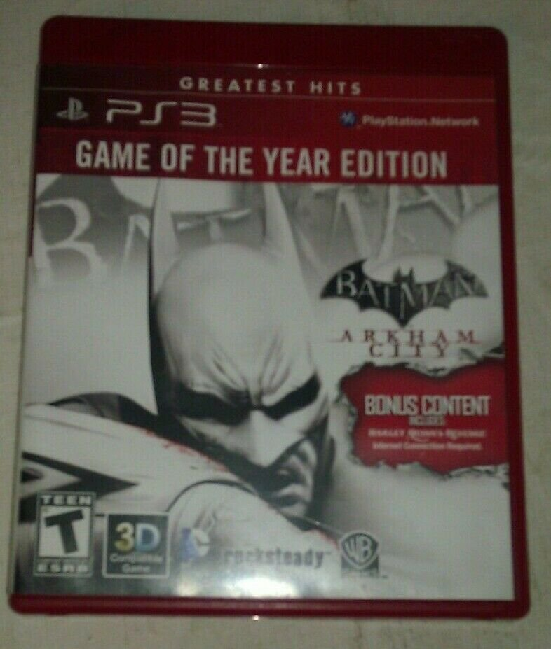Batman Arkham City Game of the Year Edition Greatest Hits ( PlayStation 3 ) PS3
